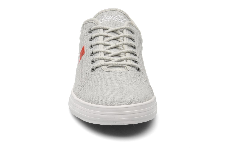 Baskets Coca-cola shoes Line Up Gris vue portées chaussures