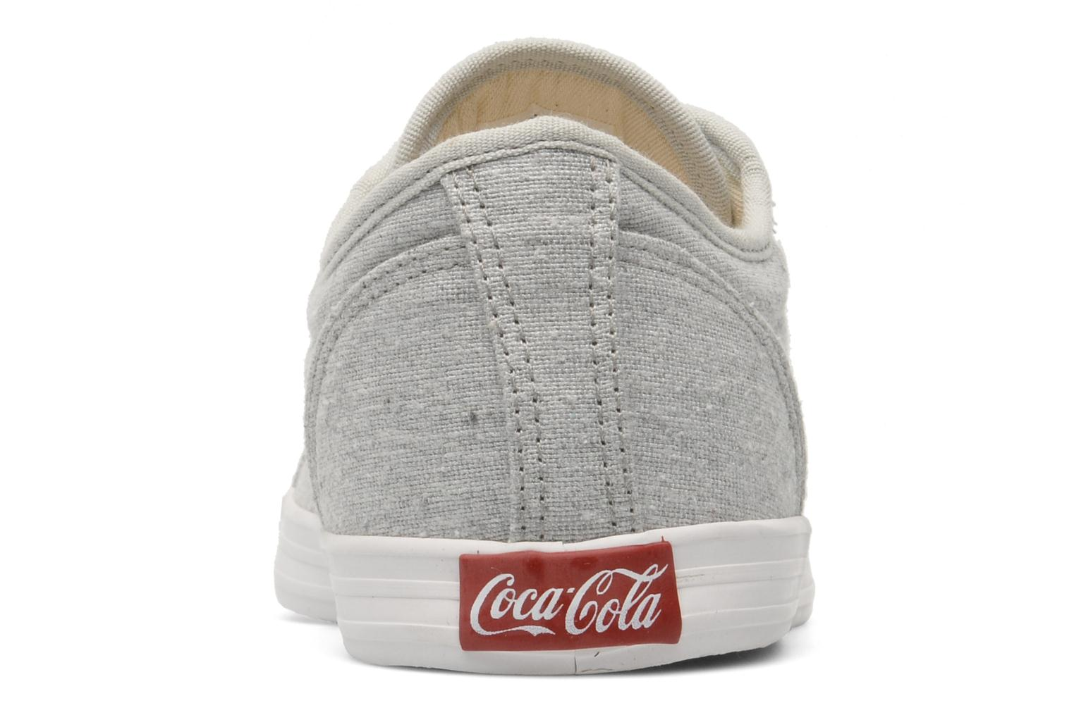 Trainers Coca-cola shoes Line Up Grey view from the right