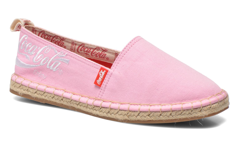 Espadrilles Coca-cola shoes Juta Classic W Rose vue détail/paire