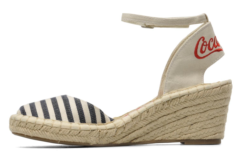 Sandalen Coca-cola shoes Juta City mehrfarbig ansicht von vorne