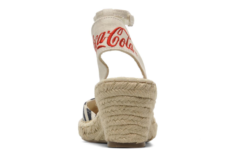 Sandales et nu-pieds Coca-cola shoes Juta City Multicolore vue droite