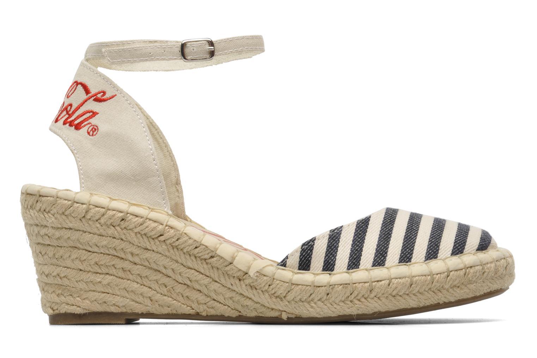 Sandalen Coca-cola shoes Juta City mehrfarbig ansicht von hinten