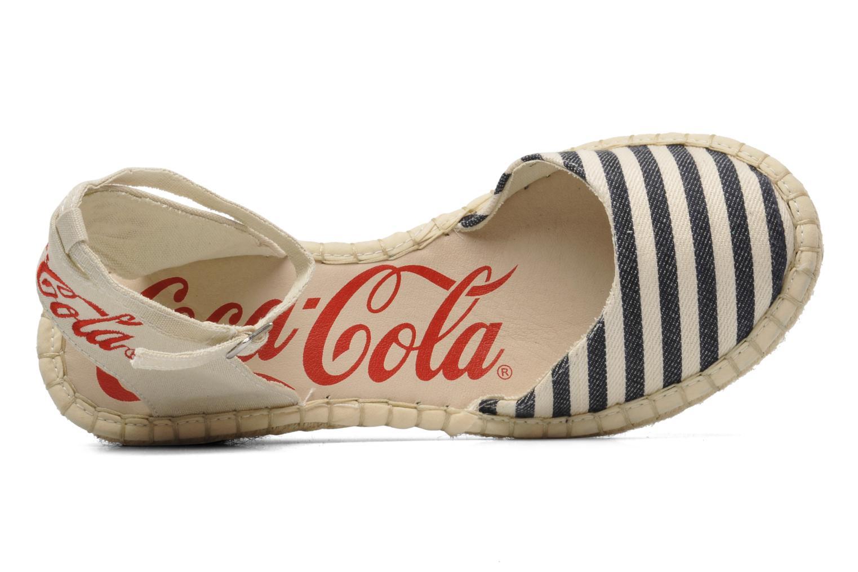 Sandals Coca-cola shoes Juta City Multicolor view from the left