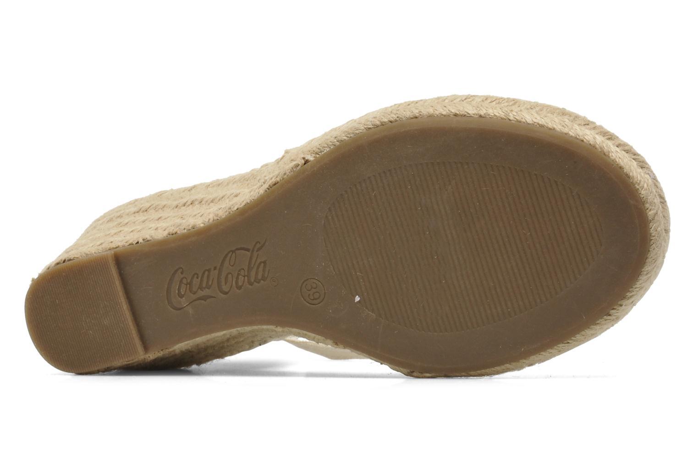 Sandales et nu-pieds Coca-cola shoes Juta City Multicolore vue haut