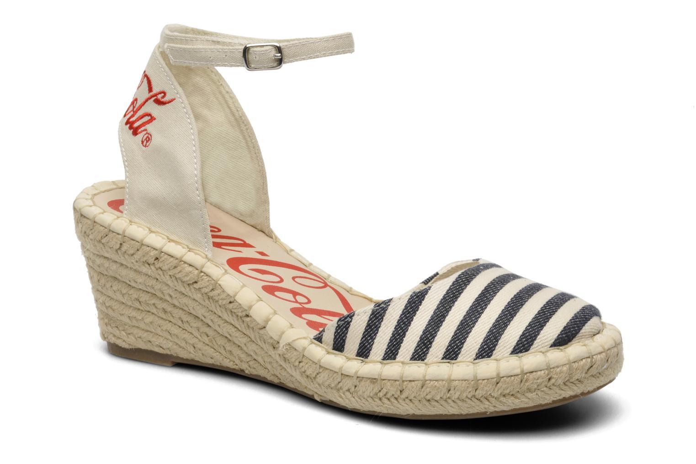 Sandales et nu-pieds Coca-cola shoes Juta City Multicolore vue détail/paire