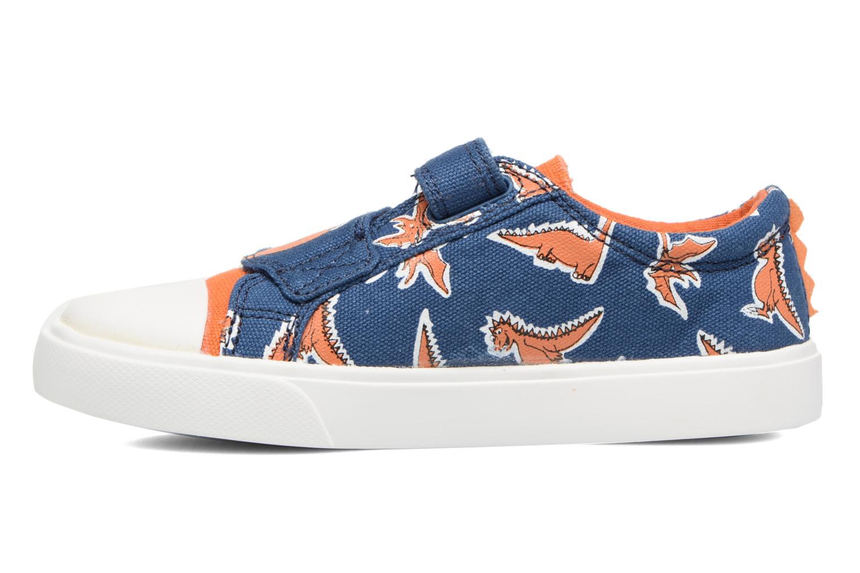 Sneakers Clarks Tricer Roar Blå se forfra