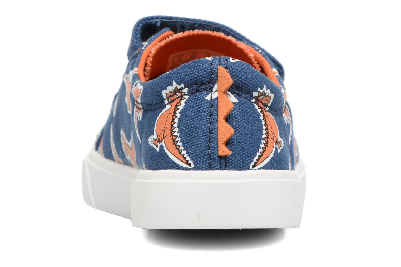 Sneakers Clarks Tricer Roar Blå Se fra højre