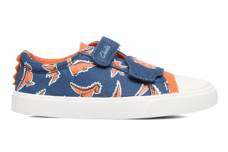 Sneakers Clarks Tricer Roar Blå se bagfra