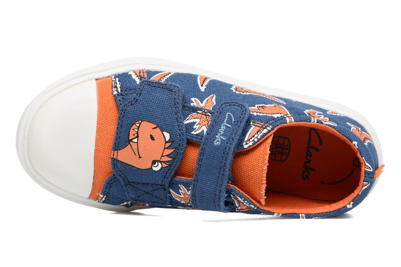 Sneakers Clarks Tricer Roar Blå se fra venstre