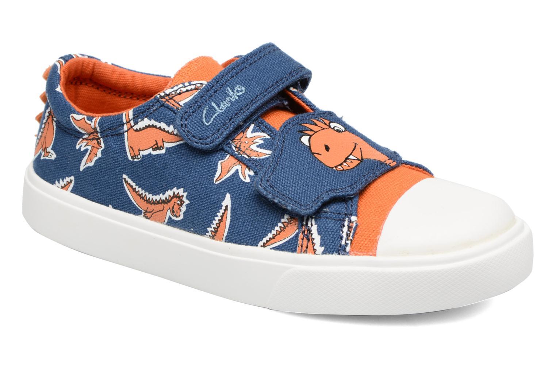 Sneakers Clarks Tricer Roar Blå detaljeret billede af skoene
