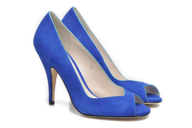 High heels Terry de Havilland Chloe Blue 3/4 view