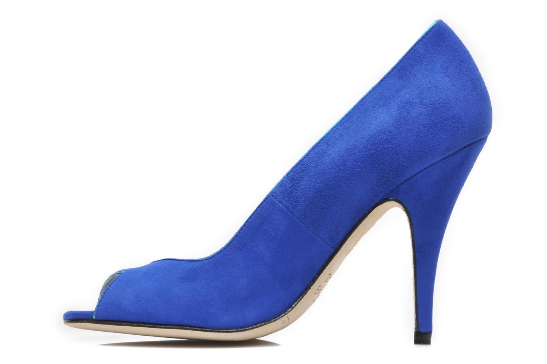 Pumps Terry de Havilland Chloe blau ansicht von vorne