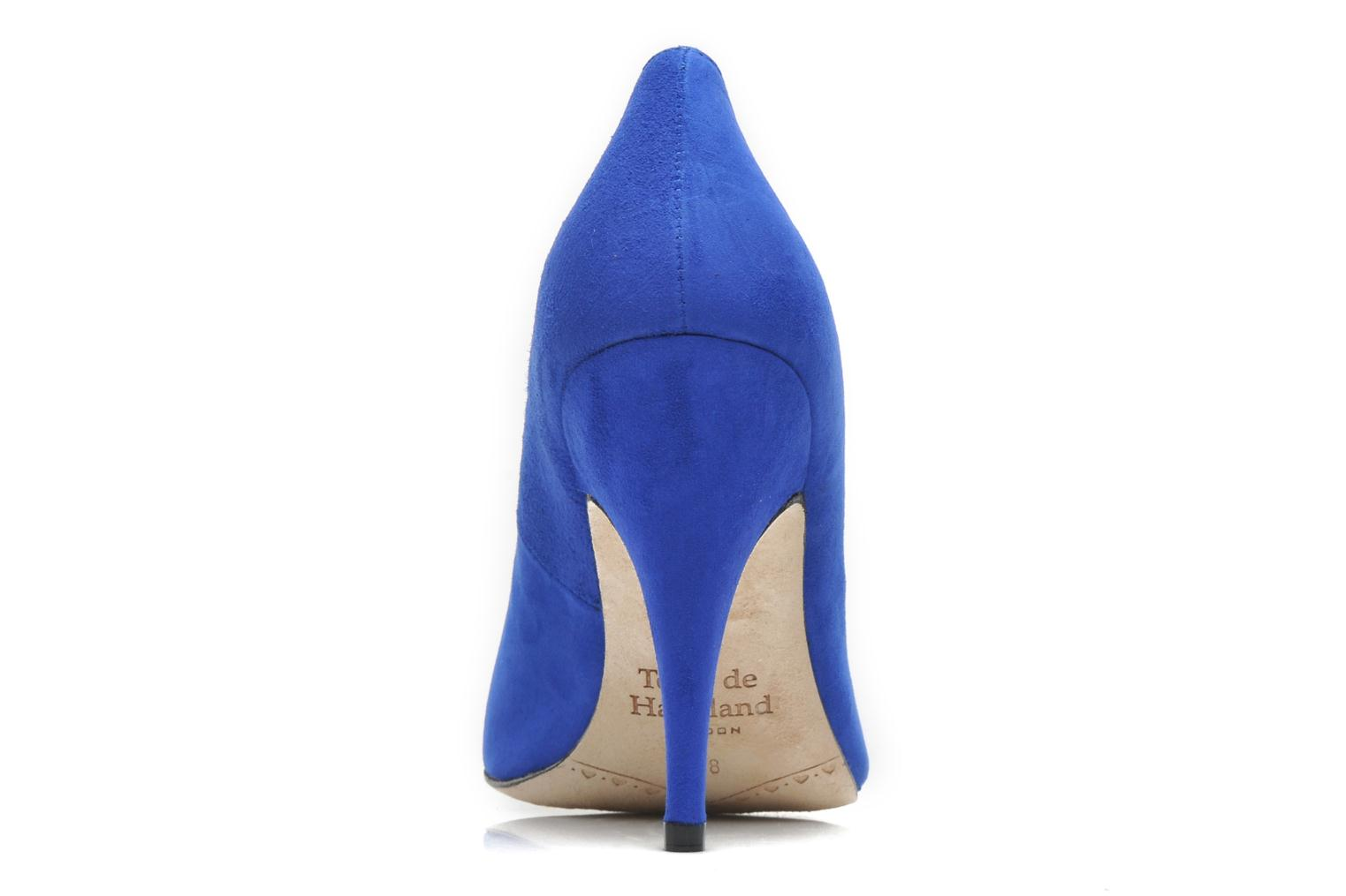 High heels Terry de Havilland Chloe Blue view from the right