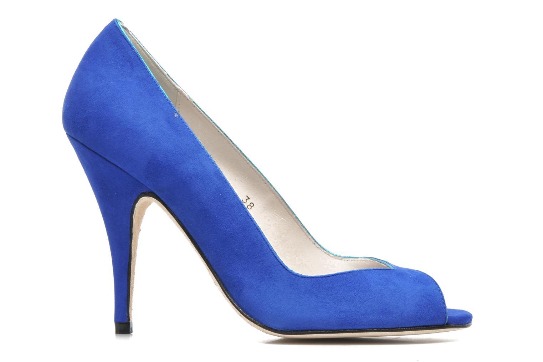 Pumps Terry de Havilland Chloe blau ansicht von hinten