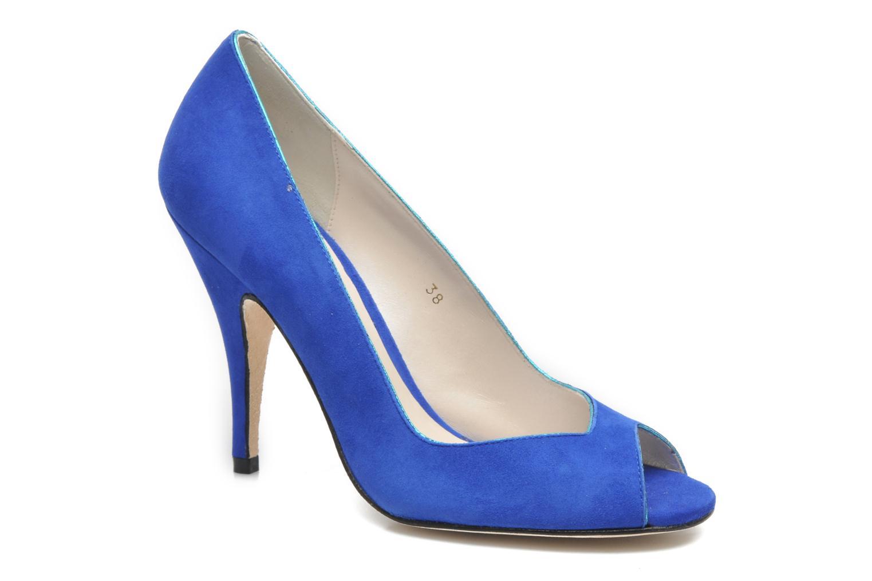 Høje hæle Terry de Havilland Chloe Blå detaljeret billede af skoene