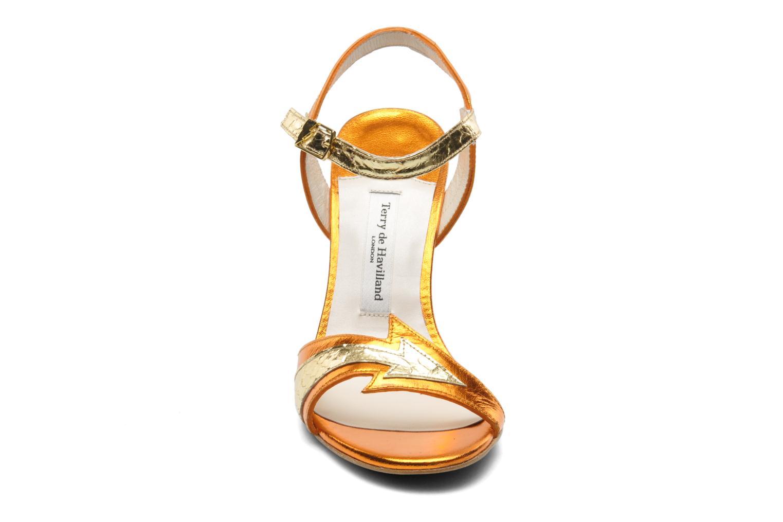 Sandals Terry de Havilland Ameena Orange model view