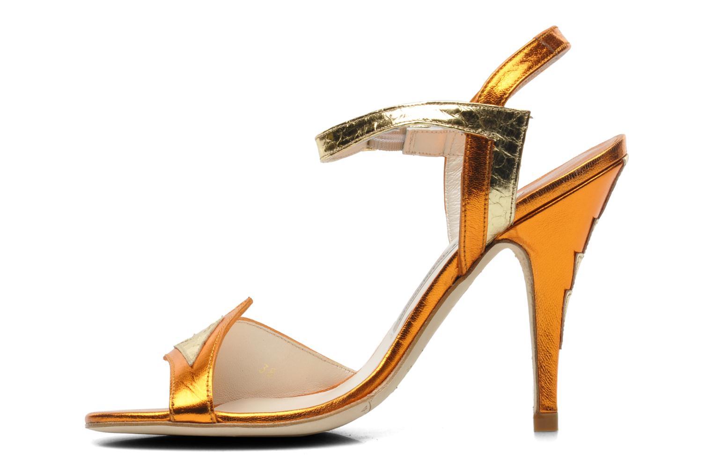 Sandals Terry de Havilland Ameena Orange front view