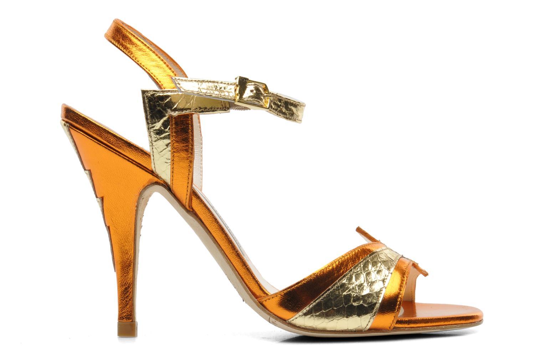 Sandals Terry de Havilland Ameena Orange back view