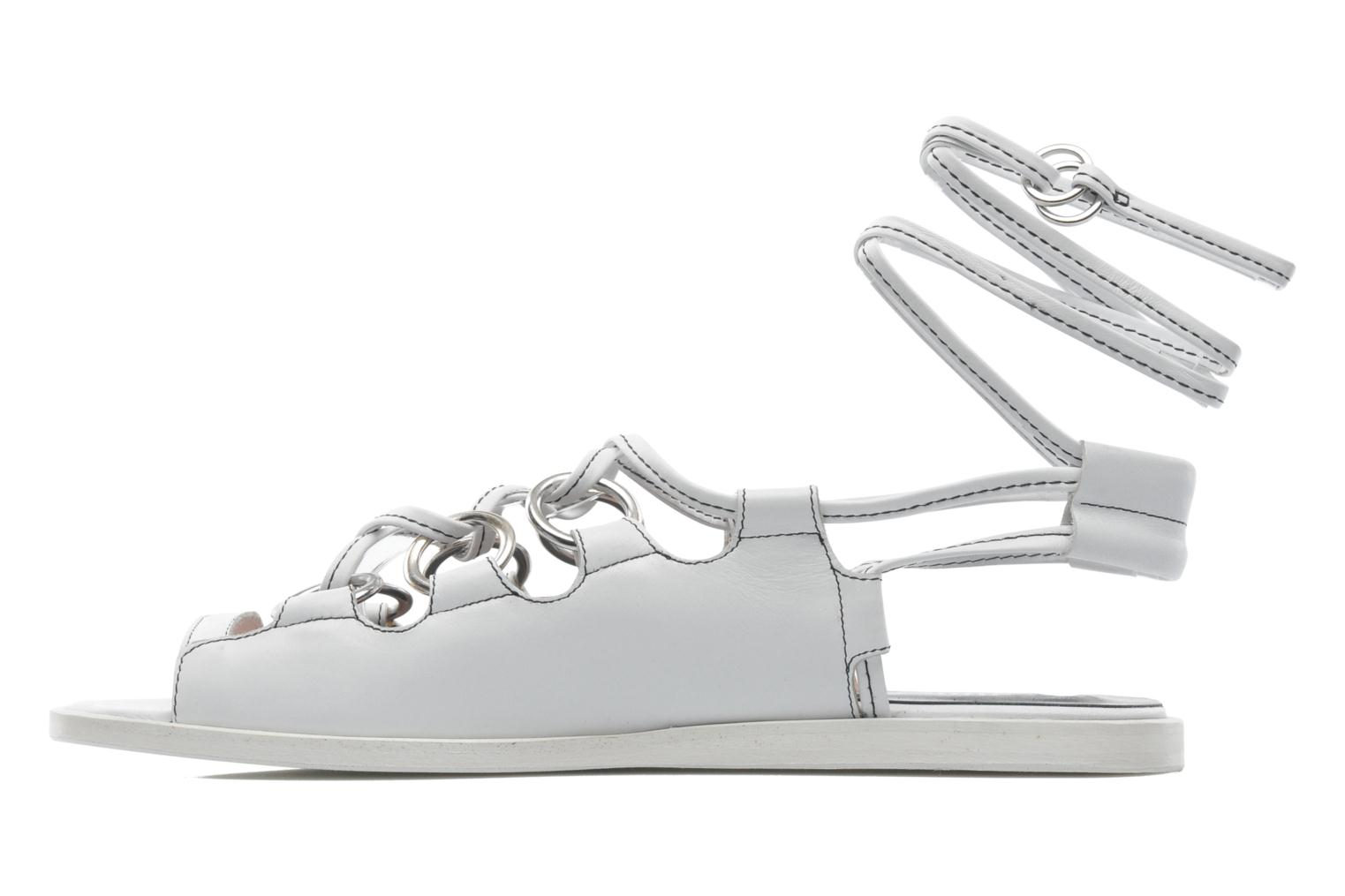 Sandals Opening Ceremony Kali multi ring lace up White front view