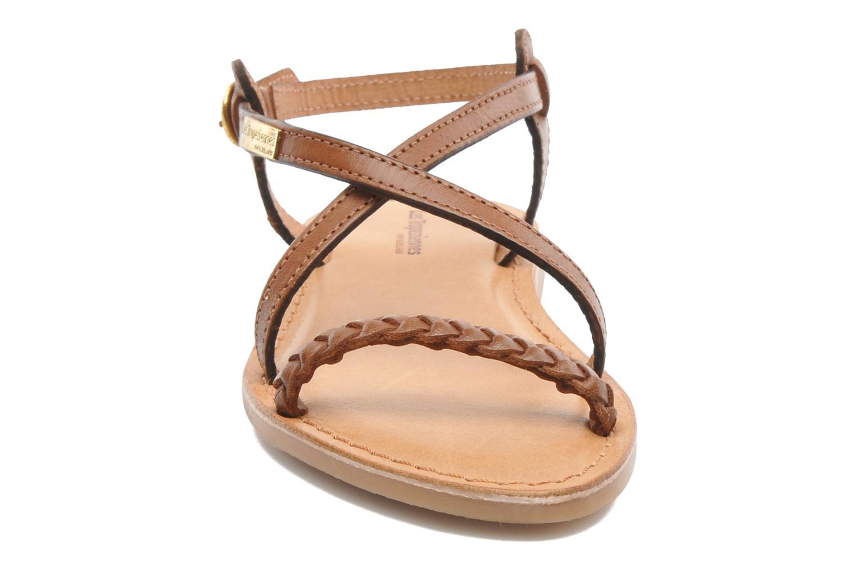 Sandales et nu-pieds Les Tropéziennes par M Belarbi Baladin Marron vue portées chaussures