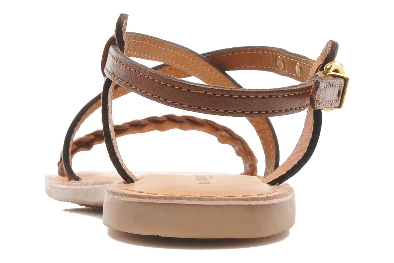 Sandales et nu-pieds Les Tropéziennes par M Belarbi Baladin Marron vue droite