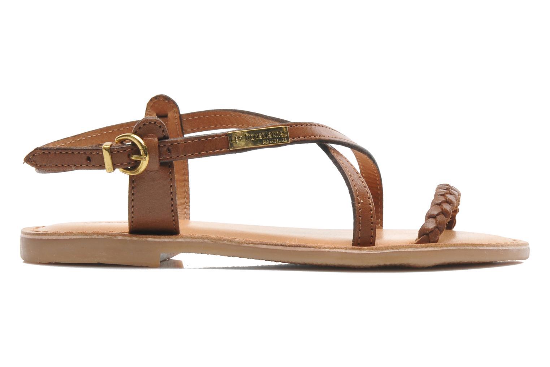 Sandales et nu-pieds Les Tropéziennes par M Belarbi Baladin Marron vue derrière