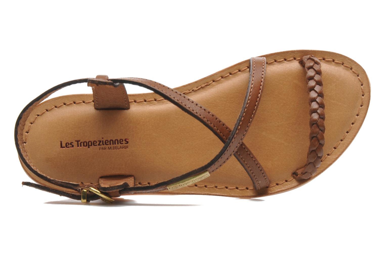 Sandales et nu-pieds Les Tropéziennes par M Belarbi Baladin Marron vue gauche