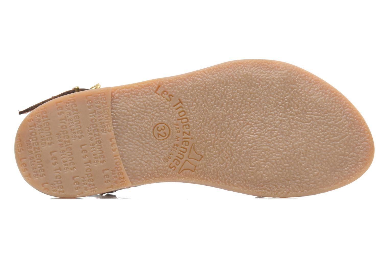 Sandales et nu-pieds Les Tropéziennes par M Belarbi Baladin Marron vue haut