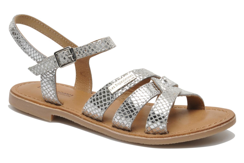 Sandaler Les Tropéziennes par M Belarbi Betise Sølv detaljeret billede af skoene