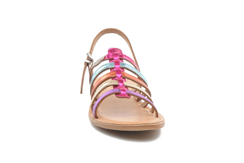 Sandales et nu-pieds Les Tropéziennes par M Belarbi Mangue Multicolore vue portées chaussures