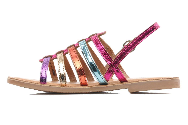 Sandales et nu-pieds Les Tropéziennes par M Belarbi Mangue Multicolore vue face