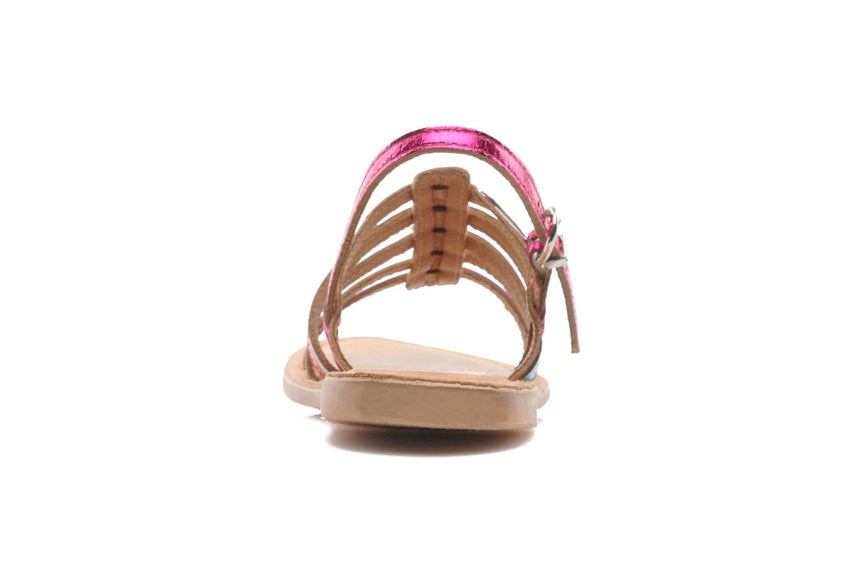 Sandales et nu-pieds Les Tropéziennes par M Belarbi Mangue Multicolore vue droite