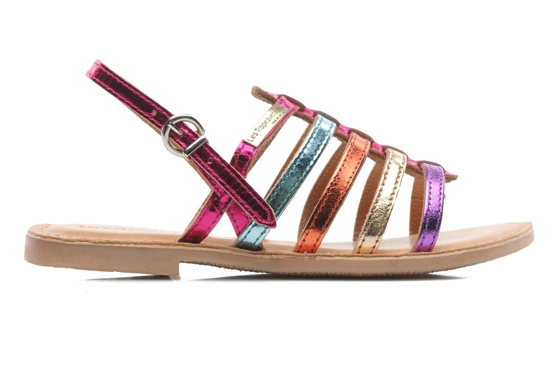Sandales et nu-pieds Les Tropéziennes par M Belarbi Mangue Multicolore vue derrière