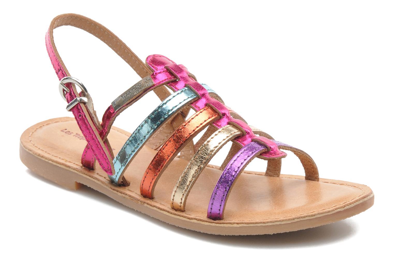 Sandales et nu-pieds Les Tropéziennes par M Belarbi Mangue Multicolore vue détail/paire