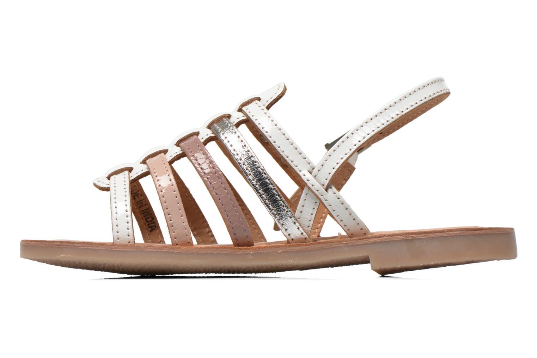 Sandals Les Tropéziennes par M Belarbi Mangue White front view