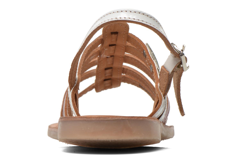 Sandales et nu-pieds Les Tropéziennes par M Belarbi Mangue Blanc vue droite