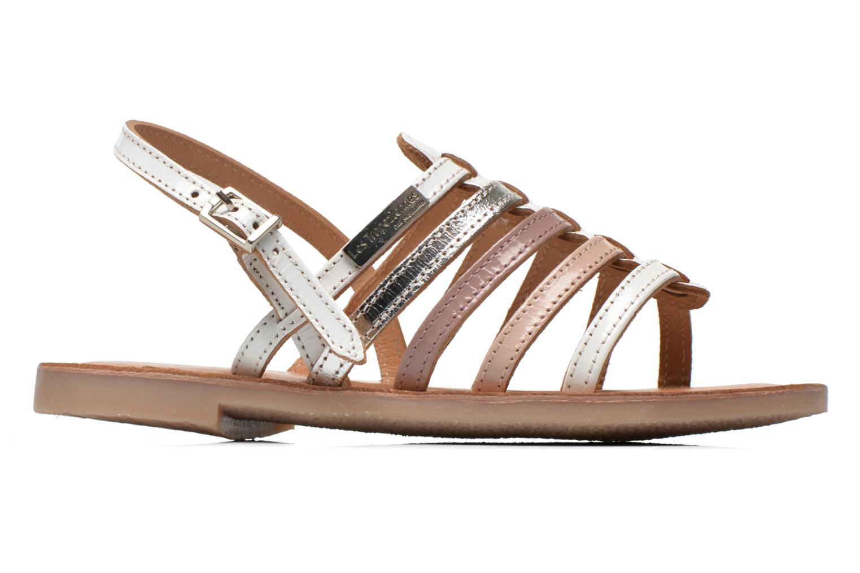 Sandales et nu-pieds Les Tropéziennes par M Belarbi Mangue Blanc vue derrière