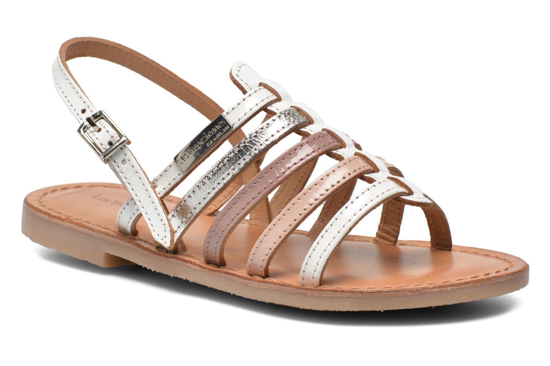 Sandales et nu-pieds Les Tropéziennes par M Belarbi Mangue Blanc vue détail/paire