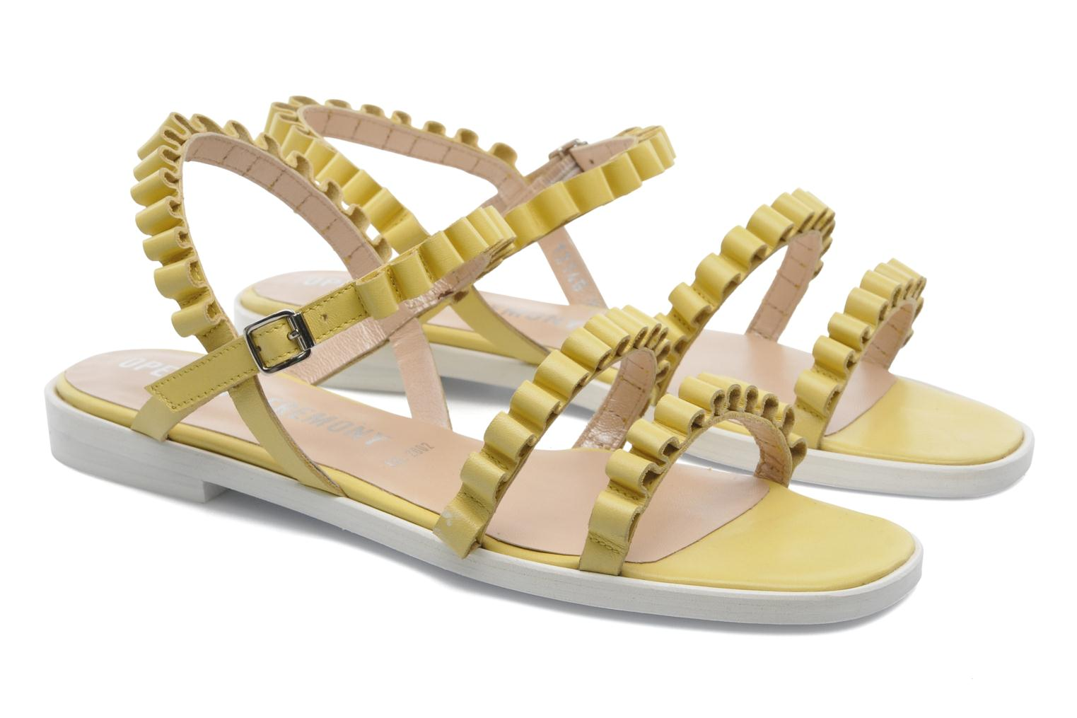 Sandals Opening Ceremony Mazzy sandal Yellow 3/4 view