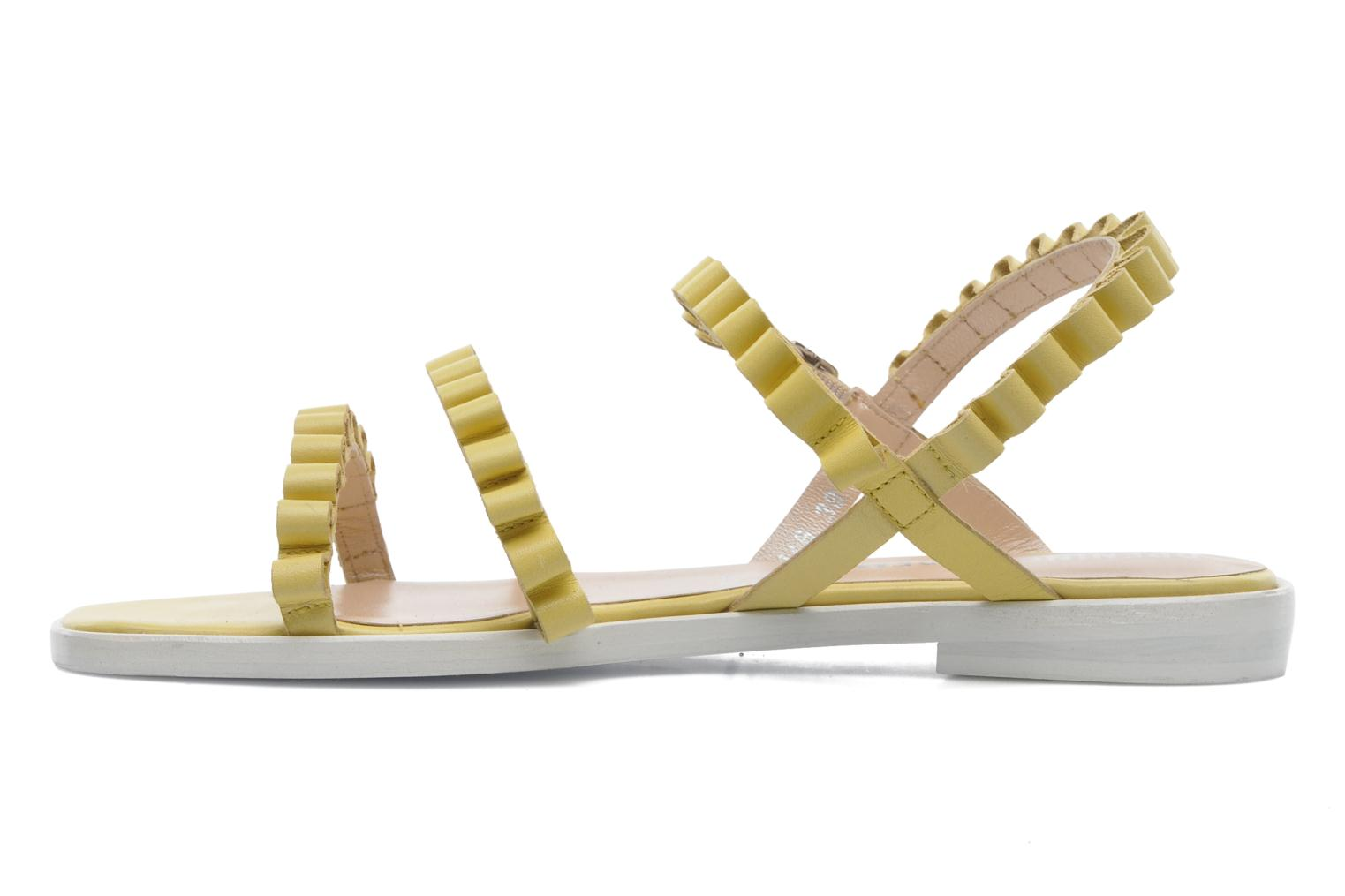 Sandals Opening Ceremony Mazzy sandal Yellow front view