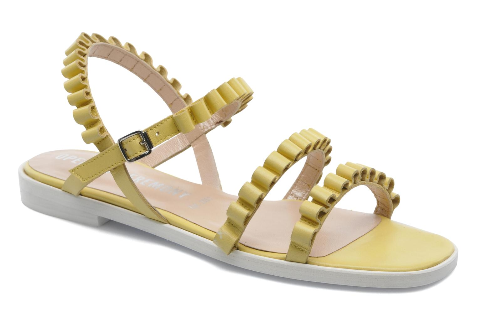 Sandals Opening Ceremony Mazzy sandal Yellow detailed view/ Pair view