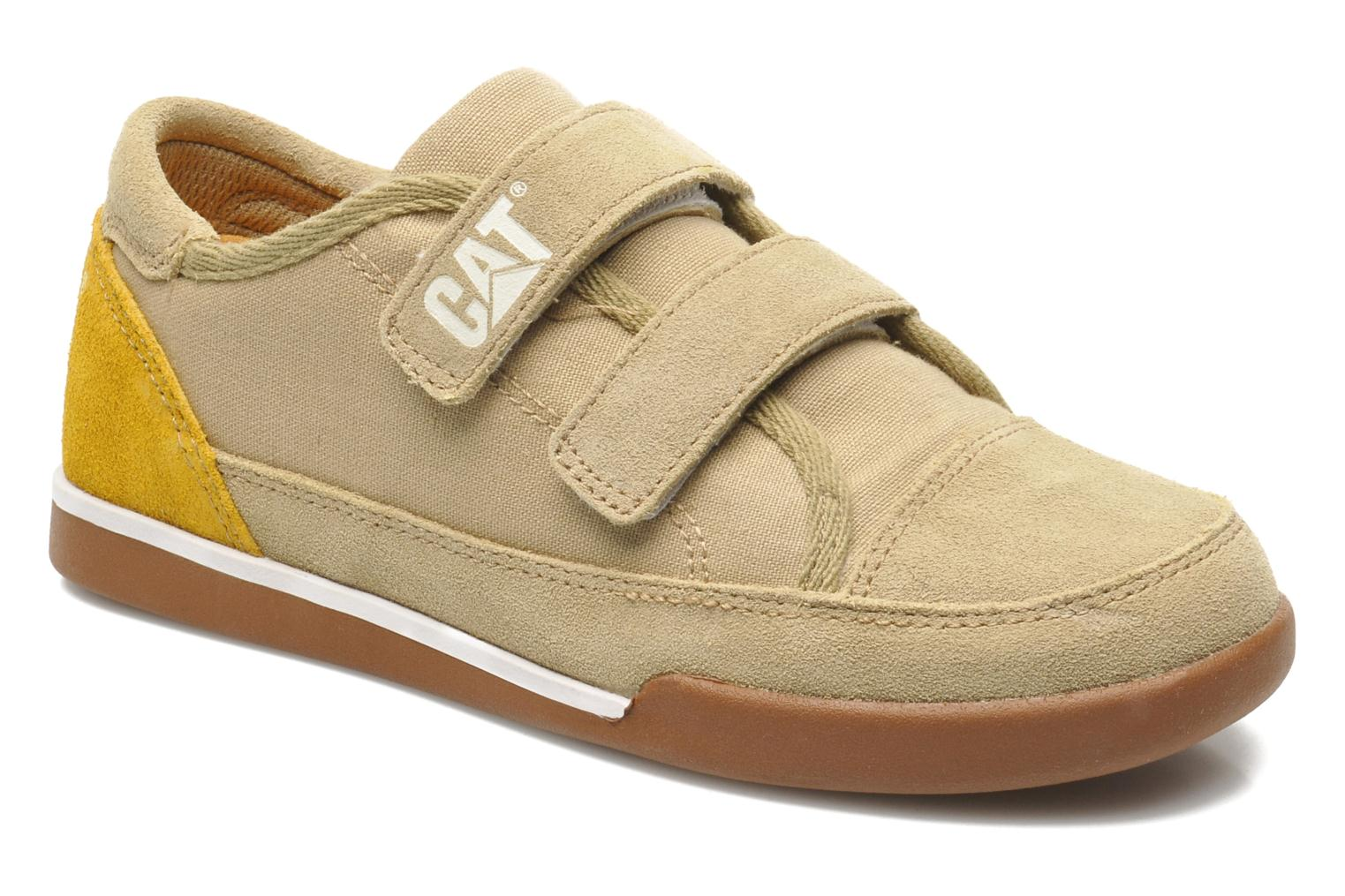 Trainers Caterpillar Free Agent Beige detailed view/ Pair view