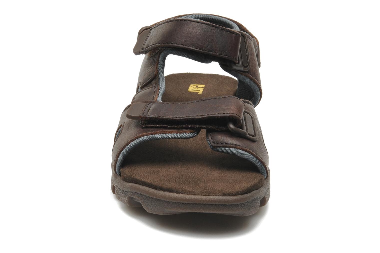 Sandales et nu-pieds Caterpillar Pathfinder Marron vue portées chaussures