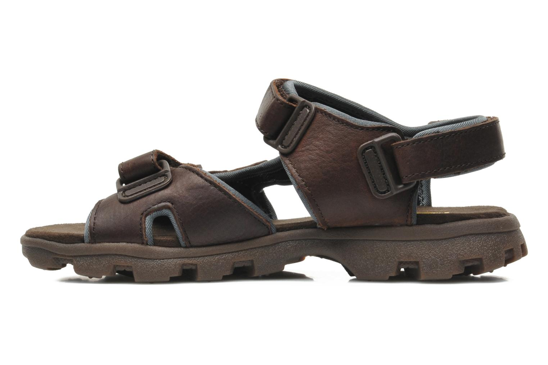 Sandales et nu-pieds Caterpillar Pathfinder Marron vue face