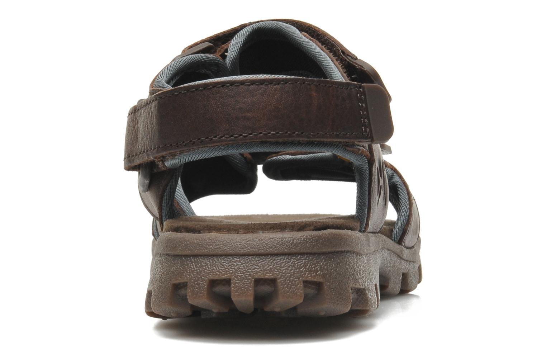Sandales et nu-pieds Caterpillar Pathfinder Marron vue droite