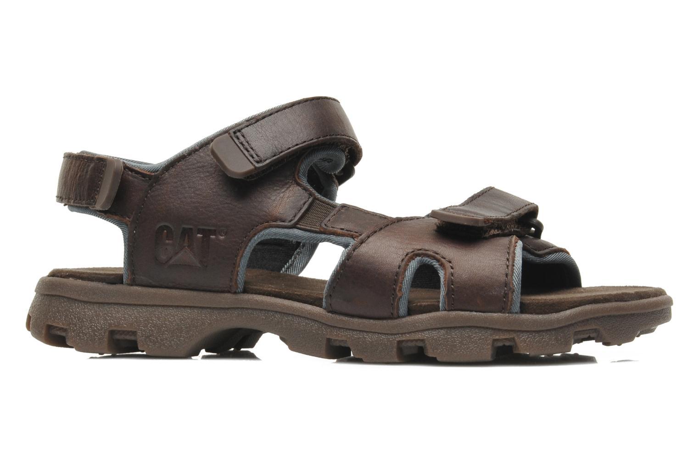Sandales et nu-pieds Caterpillar Pathfinder Marron vue derrière