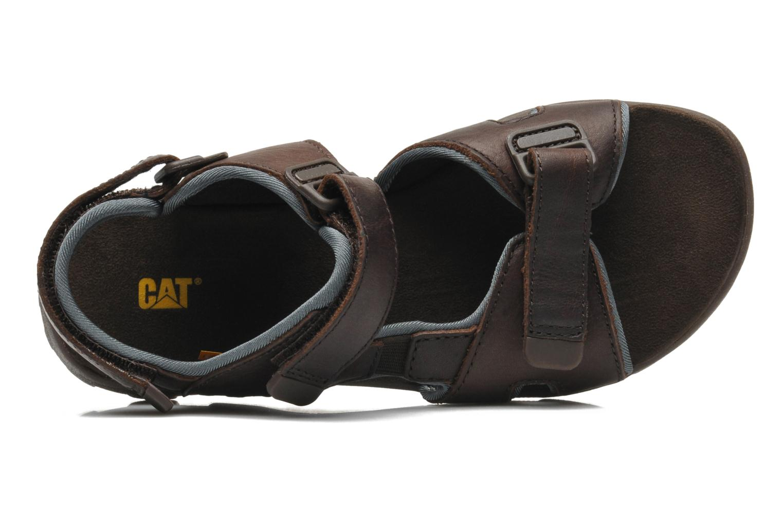 Sandales et nu-pieds Caterpillar Pathfinder Marron vue gauche