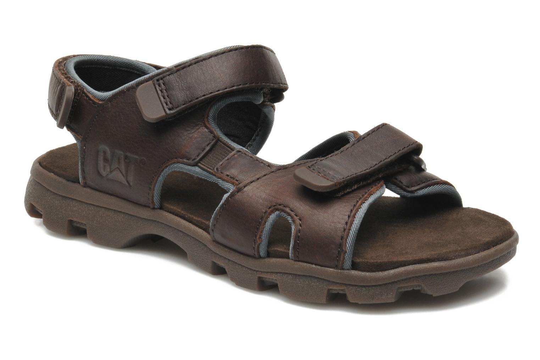 Sandales et nu-pieds Caterpillar Pathfinder Marron vue détail/paire
