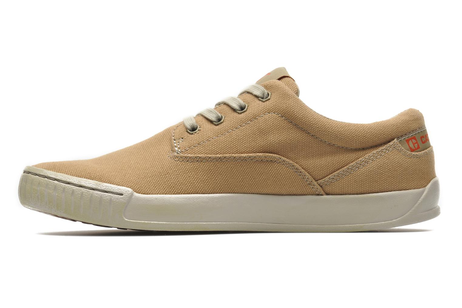 Sneakers Caterpillar Zimzala canvas Beige voorkant