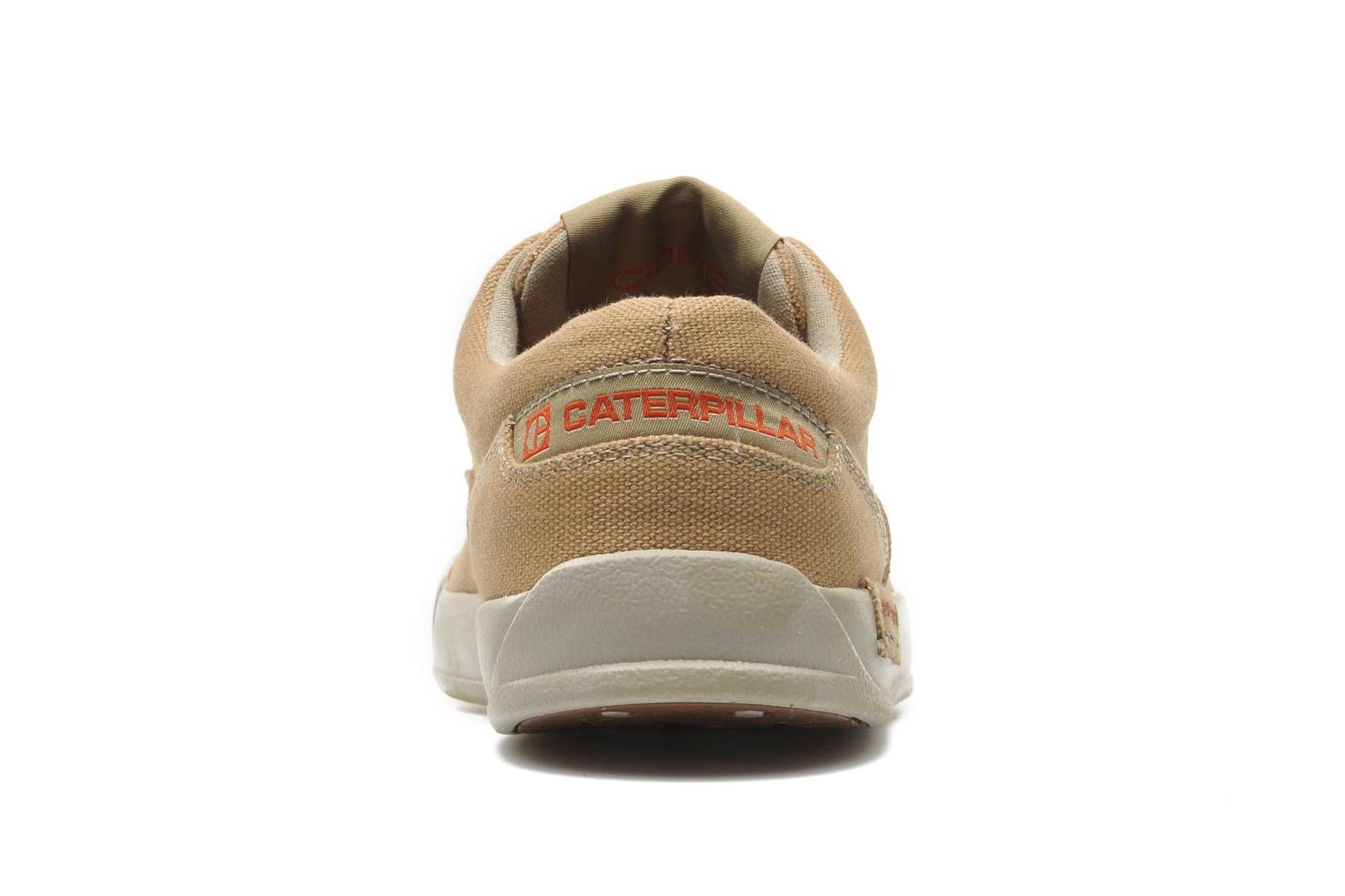 Trainers Caterpillar Zimzala canvas Beige view from the right